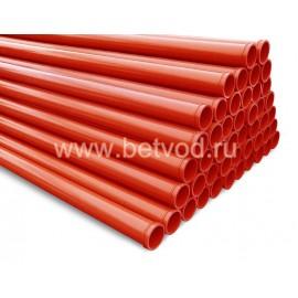 Стандартный комплект бетоноводов длиной 100 м